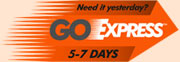 GoExpress 5-7 days delivery service