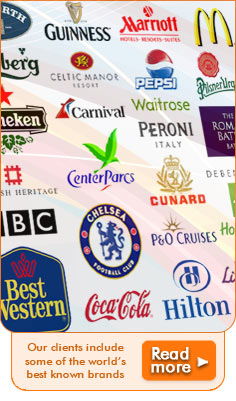 We supply some of the biggest businesses & brands, click on the link to read more!
