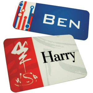 Plastic Namebadges