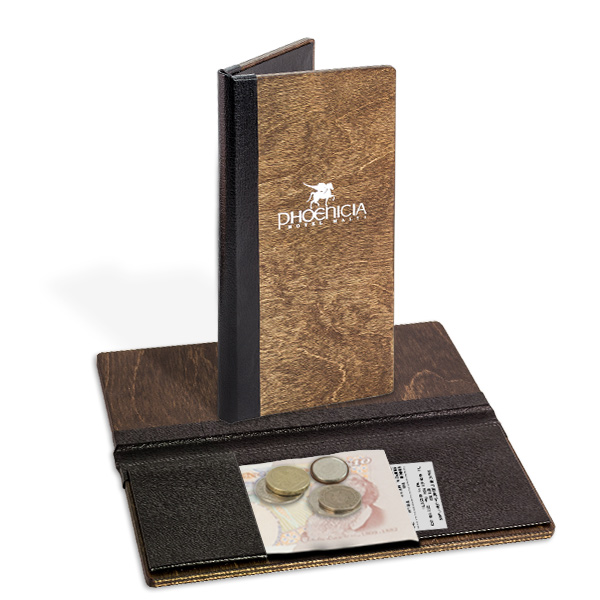 Aspen Wooden Bill Holder