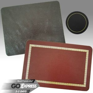 Bonded Leather Tablemats
