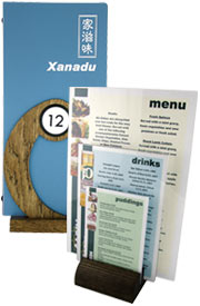 Menu accessories, menu box, hotel supplies, menu holders, menu covers, menu boxes, wooden holder.