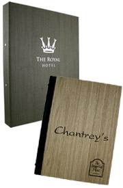 Wooden room folders