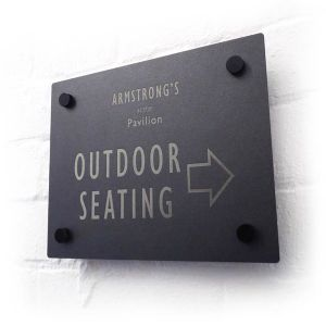 wall signs, pavement signs, smoking signs, chalk boards & table numbers