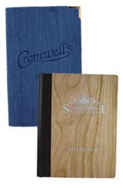 porte-addition présentoir à addition pour restaurant présenter la note clients ramasse monnaie en bois