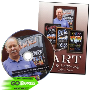 Chalkboards Art DVD