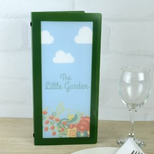 Slim Green Crystal Menus (IT3)