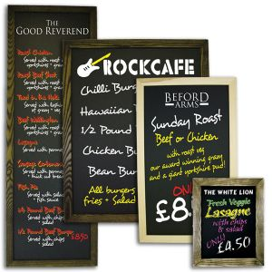 Premium Framed Wall Blackboards