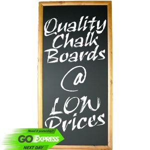 Walnut Frame Chalkboards