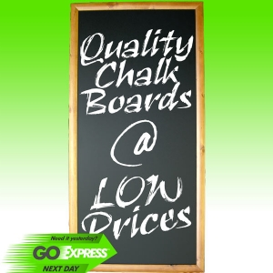 Walnut Frame Blackboards