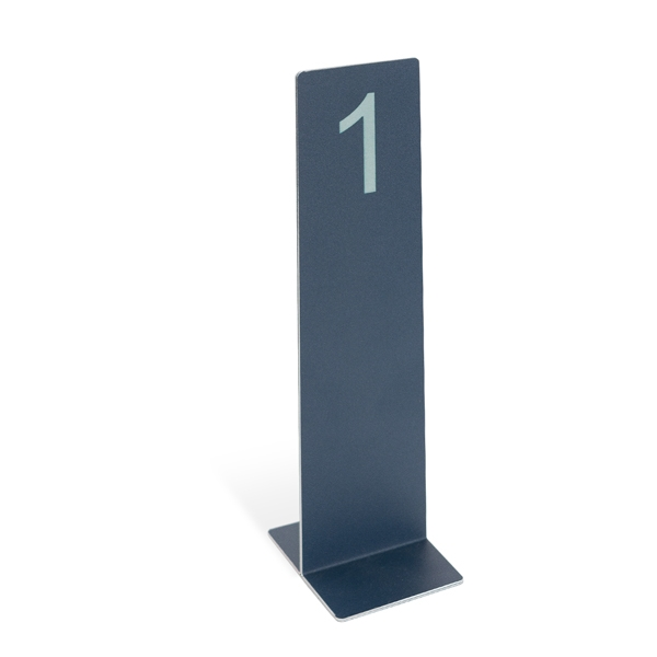 Restaurant Table Number Metal Display Stand - Table numbers restaurant supplies