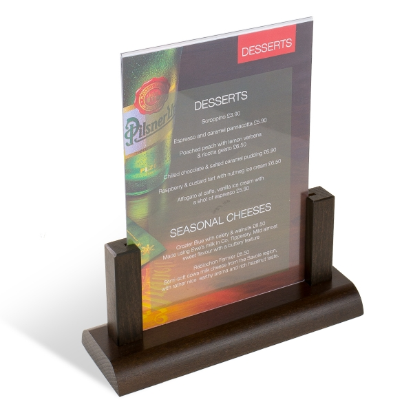 Wooden Display Tabletop Stand