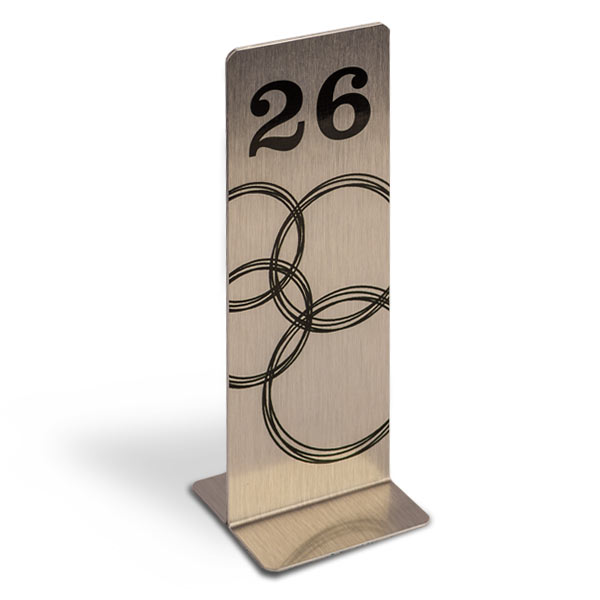 Slim Table Numbers