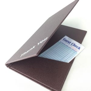 Burgundy and Brown laminated bill holders (IT659)