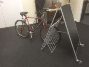 Large A-board & Cycle Park (IT389)