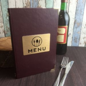 A5 Kensington Menus (IT409)