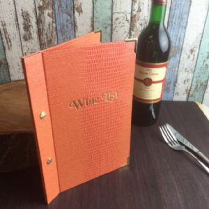 A5 Iguana Screw Fix Wine Lists (IT412)