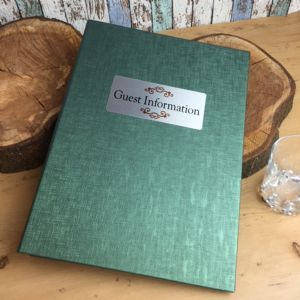 A4 Green Monaco Room Information Folders (IT526)
