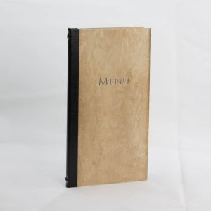 Menus in Light Wood Slim Size (IT573)