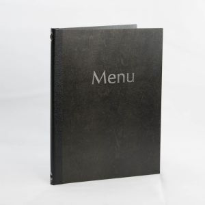 Dark Wooden Menus A4 Size (IT575)