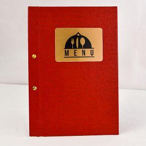 Menu holders / covers / folders