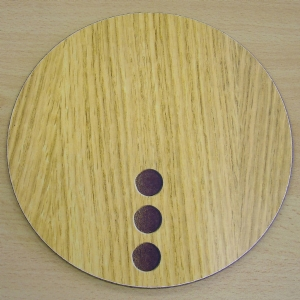 "9"" Light Circle Placemats (IT411)"