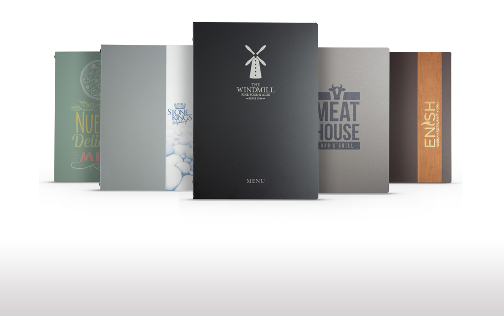 GoMetal: Meet our industry leading range of scratch resistant menu covers
