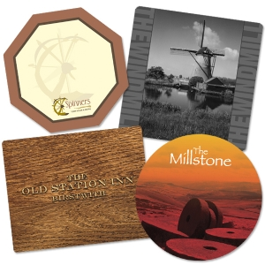 Custom Placemats & Coasters