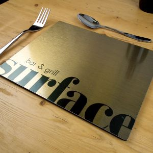 Merlin Metal Placemats