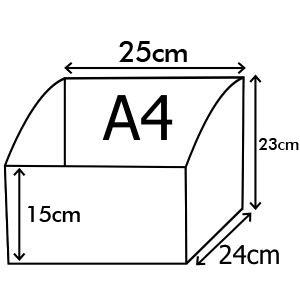 Coffret de menus en faux cuir taille A4