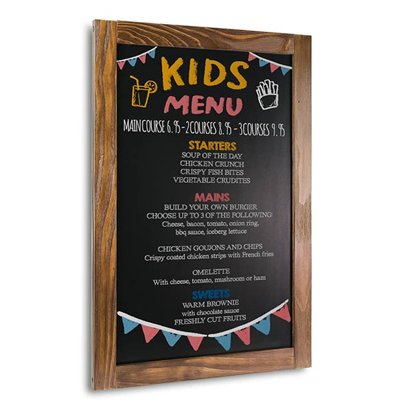 Framed Black Boards