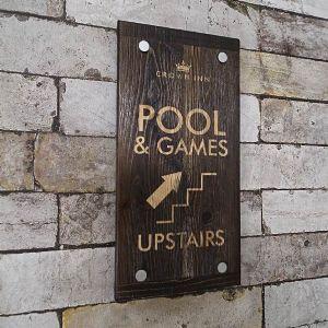 wooden signs, engraved signs, restaurant signage, menuShop