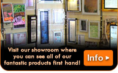 Visit our new showroom and see all of our product range under one roof!