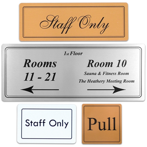Personalise with your text or logo