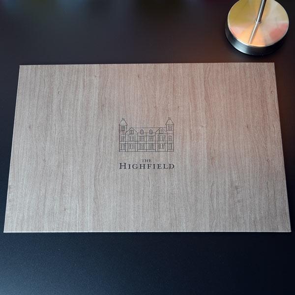 hotel deskpads, writing desk pad