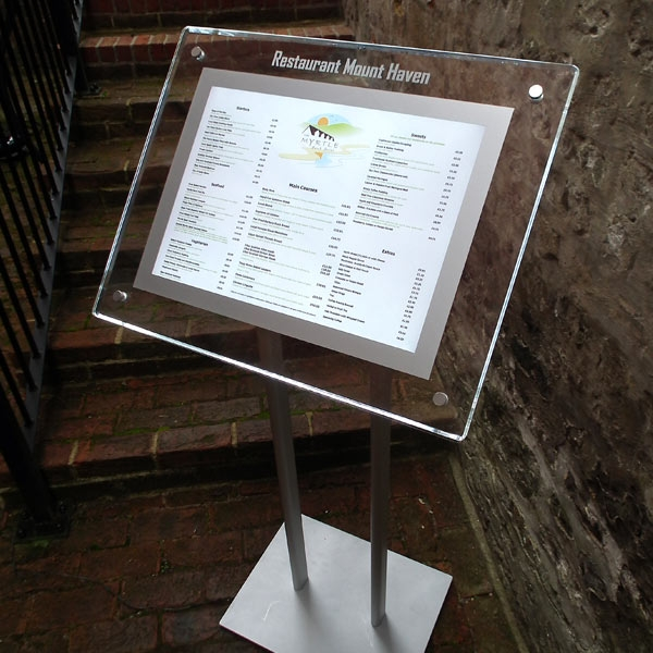 Image Result For Outdoor Sign Holders