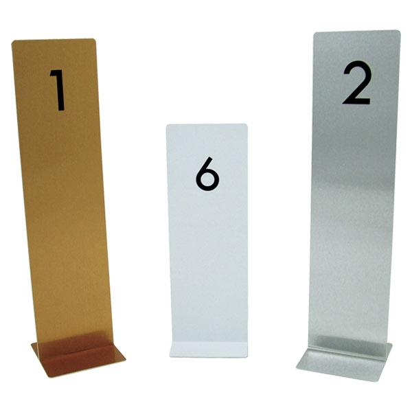 Restaurant Hotel Table Number Stands - Restaurant table stands