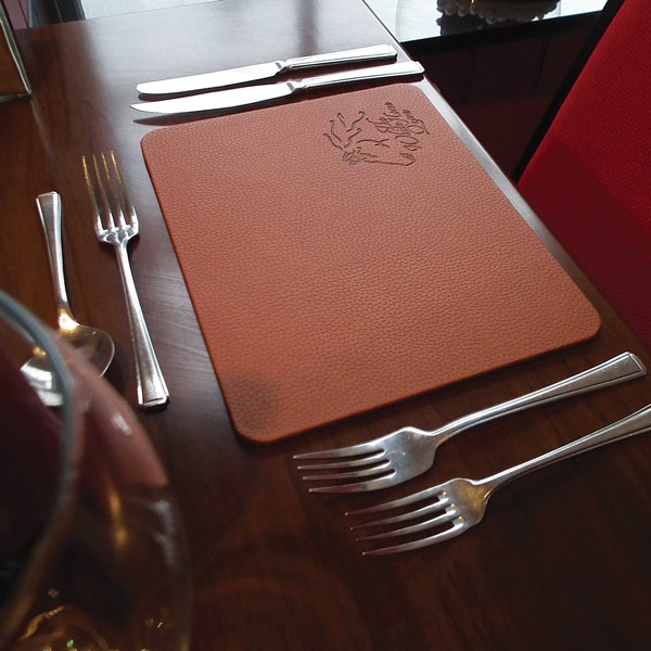 Faux Leather Placemats Custom Place Mats