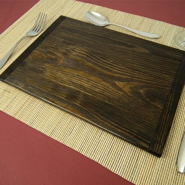 Vintage Wooden Tablemats Rustic Wood Placemats