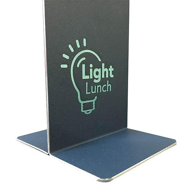 Aluminium Table Number Metal Display Stand - Custom restaurant table numbers