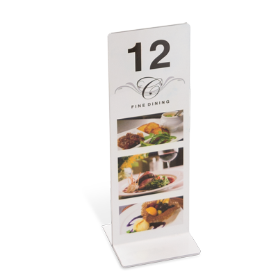Restaurant Hotel Table Number Stands
